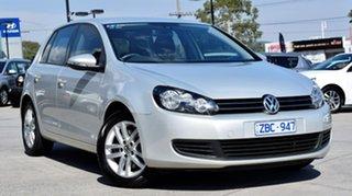 2012 Volkswagen Golf VI MY12.5 118TSI DSG Comfortline Silver Leaf 7 Speed.