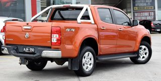 2016 Holden Colorado RG MY16 LTZ Crew Cab Orange 6 Speed Sports Automatic Utility.