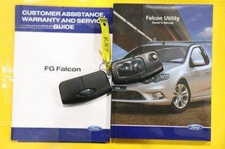2010 Ford Falcon FG Upgrade XR6 White 6 Speed Auto Seq Sportshift Utility