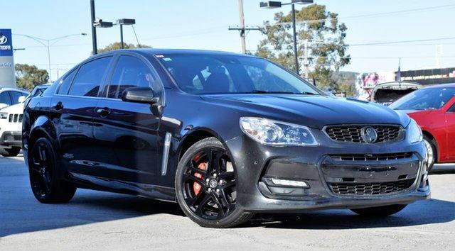 Used Holden Commodore VF II MY16 SS V Redline, 2016 Holden Commodore VF II MY16 SS V Redline Black 6 Speed Manual Sedan