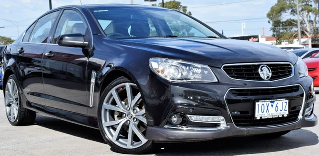 Used Holden Commodore VF MY14 SS V, 2014 Holden Commodore VF MY14 SS V Black 6 Speed Sports Automatic Sedan