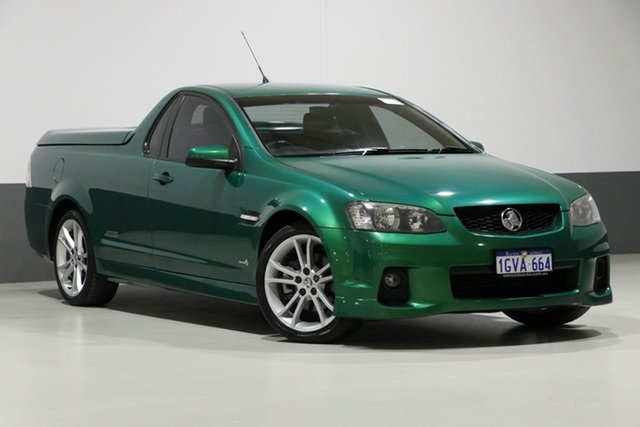 Used Holden Commodore VE II SS, 2011 Holden Commodore VE II SS Green 6 Speed Manual Utility