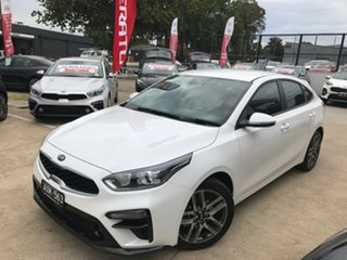 2018 Kia Cerato BD MY19 Sport+ Snow White Pearl 6 Speed Sports Automatic Hatchback.
