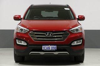 2012 Hyundai Santa Fe DM Highlander CRDi (4x4) Red 6 Speed Automatic Wagon.