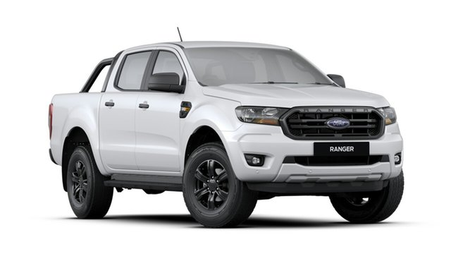 New Ford Ranger PX MkIII 2019.75MY Sport Pick-up Double Cab, 2019 Ford Ranger PX MkIII 2019.75MY Sport Pick-up Double Cab Arctic White 6 Speed Sports Automatic