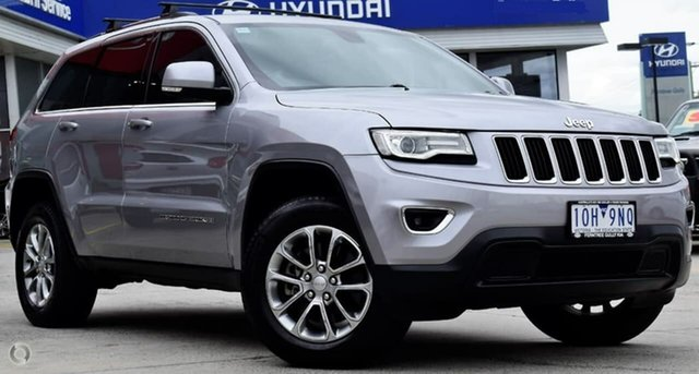 Used Jeep Grand Cherokee WK MY2014 Laredo, 2013 Jeep Grand Cherokee WK MY2014 Laredo Silver 8 Speed Sports Automatic Wagon
