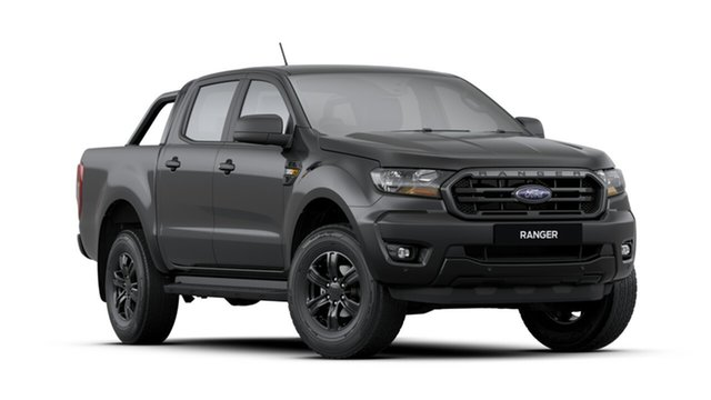 New Ford Ranger PX MkIII 2020.25MY Sport Pick-up Double Cab, 2020 Ford Ranger PX MkIII 2020.25MY Sport Pick-up Double Cab Shadow Black 6 Speed Sports Automatic