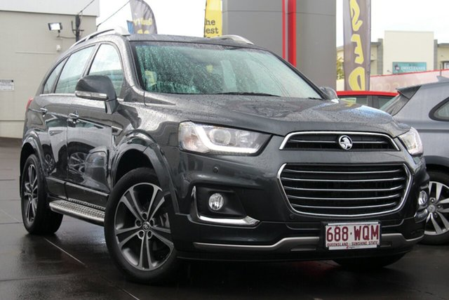 Used Holden Captiva CG MY16 LTZ AWD, 2016 Holden Captiva CG MY16 LTZ AWD Grey 6 Speed Sports Automatic Wagon
