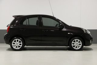 2015 Nissan Micra K13 MY13 TI Black 4 Speed Automatic Hatchback