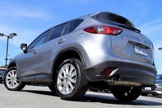 2014 Mazda CX-5 KE1031 MY14 Akera SKYACTIV-Drive AWD Silver 6 Speed Sports Automatic Wagon.