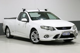 2010 Ford Falcon FG Upgrade XR6 White 6 Speed Auto Seq Sportshift Utility.
