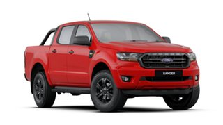 2019 Ford Ranger PX MkIII 2019.75MY Sport Pick-up Double Cab Red 6 Speed Manual Utility.