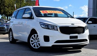2016 Kia Carnival YP MY17 S White 6 Speed Sports Automatic Wagon.