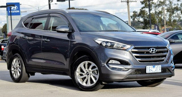 Used Hyundai Tucson TLE Elite AWD, 2016 Hyundai Tucson TLE Elite AWD Grey 6 Speed Sports Automatic Wagon