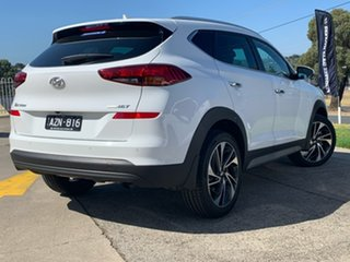 2018 Hyundai Tucson TLE3 MY19 Special Edition D-CT AWD Polar White 7 Speed.