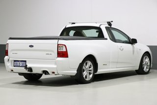 2010 Ford Falcon FG Upgrade XR6 White 6 Speed Auto Seq Sportshift Utility