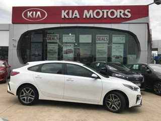 2018 Kia Cerato BD MY19 Sport+ Snow White Pearl 6 Speed Sports Automatic Hatchback