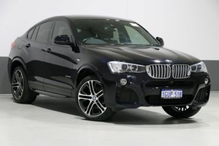 2017 BMW X4 F26 MY16 xDrive 35I Carbon Black 8 Speed Automatic Coupe.