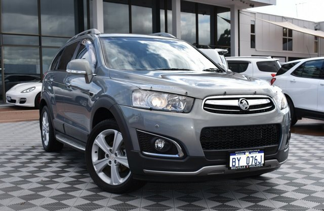 Used Holden Captiva CG MY14 7 AWD LTZ, 2013 Holden Captiva CG MY14 7 AWD LTZ Grey 6 Speed Sports Automatic Wagon