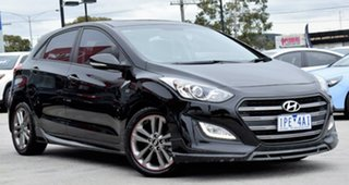 2015 Hyundai i30 GD3 Series II MY16 SR Black 6 Speed Sports Automatic Hatchback