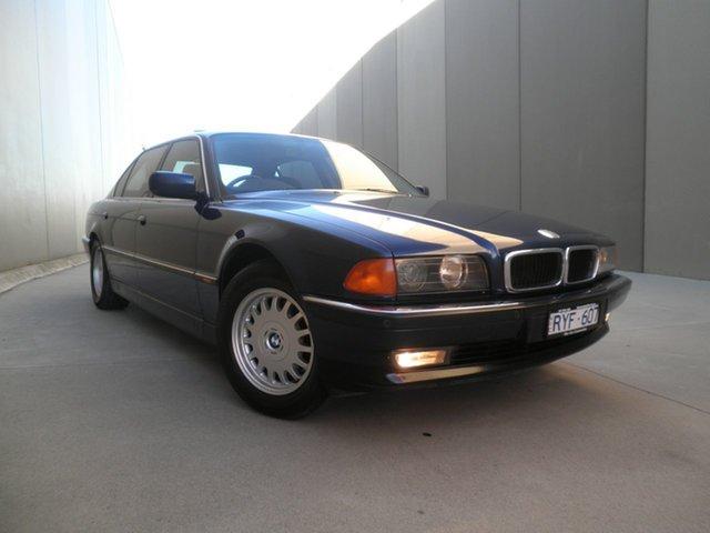 Used BMW 735il E38-M62 Steptronic, 1997 BMW 735il E38-M62 Steptronic Midnight Blue 5 Speed Sports Automatic Sedan