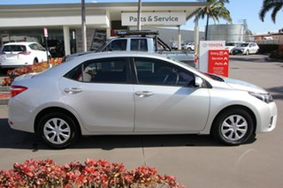 2016 Toyota Corolla ZRE172R Ascent S-CVT Silver Ash 7 Speed Constant Variable Sedan.