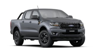 2020 Ford Ranger PX MkIII 2021.25MY XLS Grey 6 Speed Sports Automatic Utility.