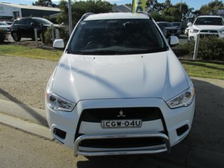 2012 Mitsubishi ASX ASX 2WD White 6 Speed Automatic Wagon.