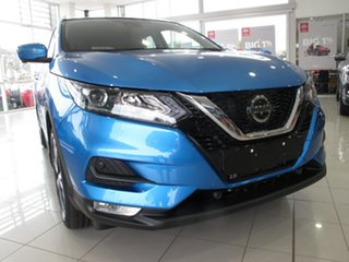 2019 Nissan Qashqai J11 MY18 ST-L (5Yr) Blue 1 Speed Continuous Variable Wagon
