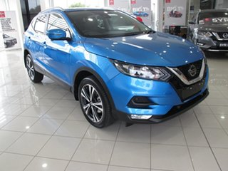 2019 Nissan Qashqai J11 MY18 ST-L (5Yr) Blue 1 Speed Continuous Variable Wagon.