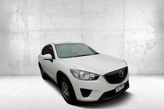 Used Mazda CX-5 KE1071 Maxx SKYACTIV-Drive, 2012 Mazda CX-5 KE1071 Maxx SKYACTIV-Drive Crystal White 6 Speed Sports Automatic Wagon