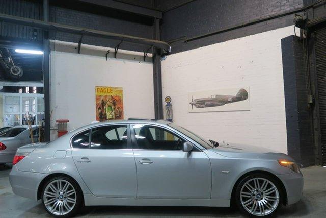 Used BMW 525i E60 MY07 Steptronic, 2007 BMW 525i E60 MY07 Steptronic Silver 6 Speed Sports Automatic Sedan