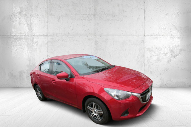 Used Mazda 2 DL2SAA Neo SKYACTIV-Drive, 2015 Mazda 2 DL2SAA Neo SKYACTIV-Drive Red 6 Speed Sports Automatic Sedan