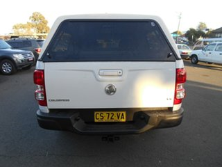 2012 Holden Colorado RG LX (4x4) White 6 Speed Automatic Crew Cab Pickup