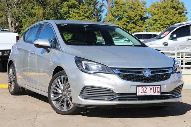 Used Holden Astra BK MY17 RS-V, 2017 Holden Astra BK MY17 RS-V Silver 6 Speed Manual Hatchback