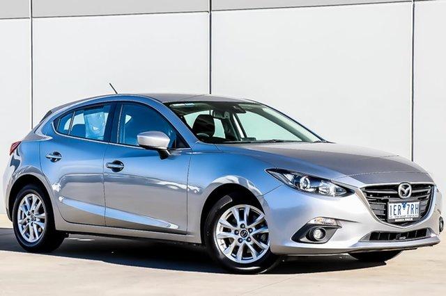 Used Mazda 3 BM5478 Maxx SKYACTIV-Drive, 2015 Mazda 3 BM5478 Maxx SKYACTIV-Drive Aluminium 6 Speed Sports Automatic Hatchback