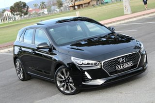 2018 Hyundai i30 PD2 MY18 SR D-CT Premium Black 7 Speed Sports Automatic Dual Clutch Hatchback.