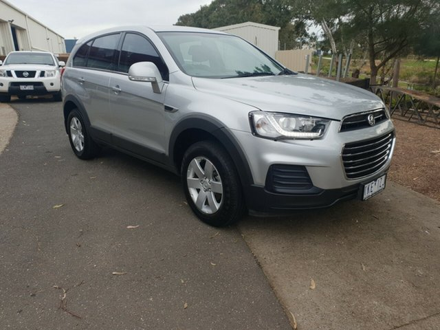 Used Holden Captiva CG MY18 LS 2WD, 2017 Holden Captiva CG MY18 LS 2WD Silver 6 Speed Sports Automatic Wagon