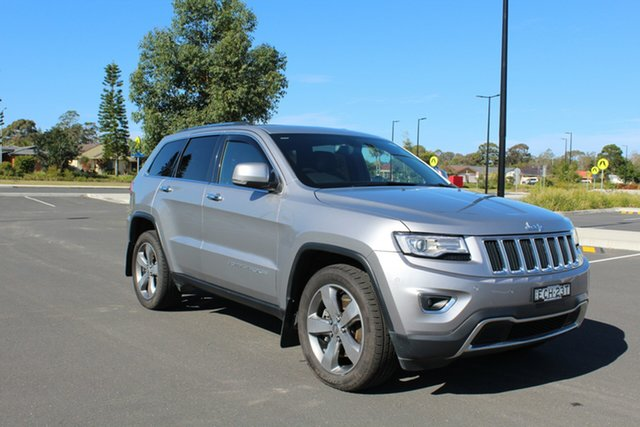 Used Jeep Grand Cherokee WK MY15 Limited, 2014 Jeep Grand Cherokee WK MY15 Limited Billet 8 Speed Sports Automatic Wagon