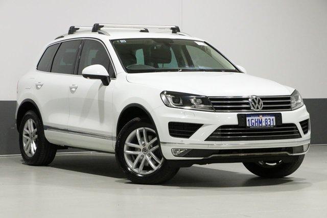 Used Volkswagen Touareg 7P MY17 150 TDI Element, 2017 Volkswagen Touareg 7P MY17 150 TDI Element White 8 Speed Automatic Wagon
