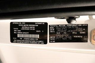 2015 Toyota Landcruiser Prado GDJ150R GX Glacier 6 Speed Sports Automatic Wagon
