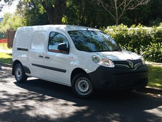 2018 Renault Kangoo F61 Phase II Maxi LWB EDC Mineral White 6 Speed Sports Automatic Dual Clutch Van.