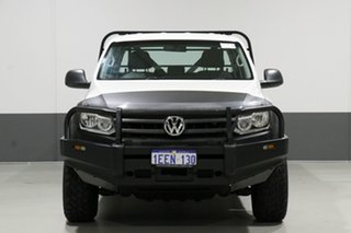 2012 Volkswagen Amarok 2H MY12.5 TDI400 (4x4) White 6 Speed Manual Dual Cab Chassis.