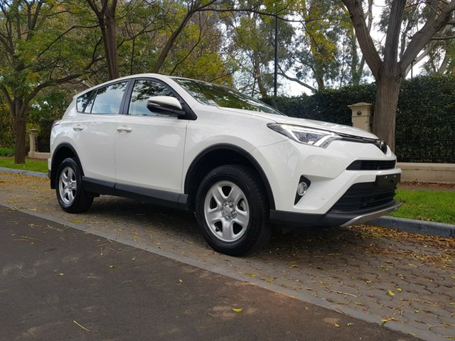 Used Toyota RAV4 ASA44R GX AWD, 2018 Toyota RAV4 ASA44R GX AWD White 6 Speed Sports Automatic Wagon