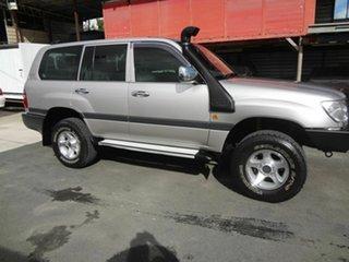 2003 Toyota Landcruiser HZJ105R GXL (4x4) Silver 5 Speed Manual 4x4 Wagon.