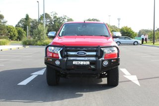 2016 Ford Ranger PX MkII XLT Double Cab Race Red 6 Speed Sports Automatic Utility.
