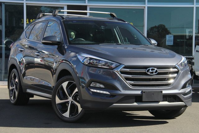 Used Hyundai Tucson TLe MY17 Highlander AWD, 2017 Hyundai Tucson TLe MY17 Highlander AWD Grey 6 Speed Sports Automatic Wagon