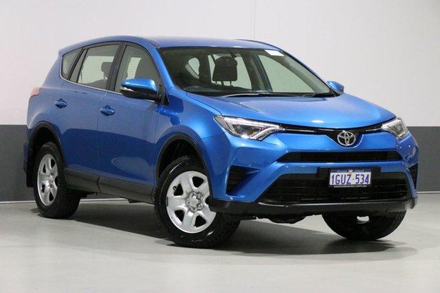 Used Toyota RAV4 ASA44R MY17 GX (4x4), 2017 Toyota RAV4 ASA44R MY17 GX (4x4) Blue 6 Speed Automatic Wagon