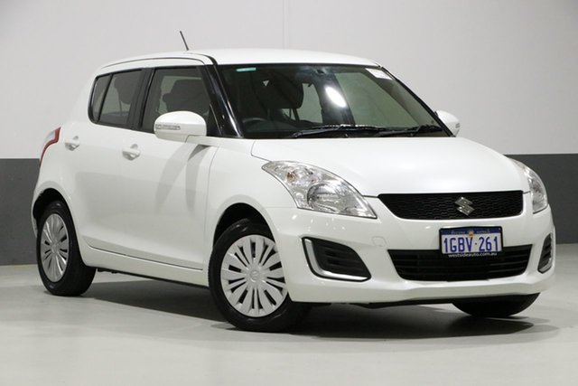 Used Suzuki Swift FZ MY14 GL Navigator, 2016 Suzuki Swift FZ MY14 GL Navigator White 4 Speed Automatic Hatchback