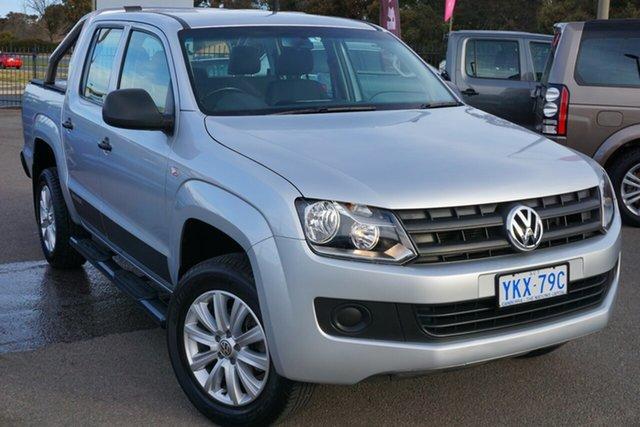 Used Volkswagen Amarok 2H MY15 TDI420 4x2, 2015 Volkswagen Amarok 2H MY15 TDI420 4x2 Reflex Silver 8 Speed Automatic Utility